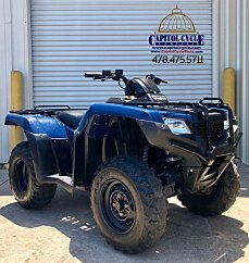 2016 Honda FourTrax Rancher for sale 200581620